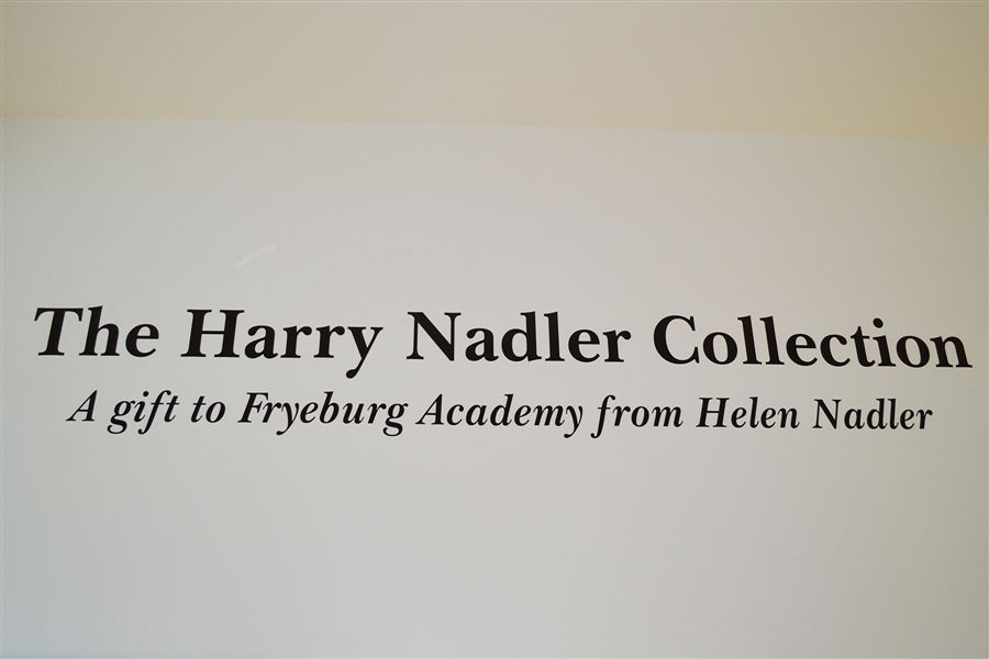 The Harry Nadler Collection - A gift to Fryeburg Academy from Helen Nadler
