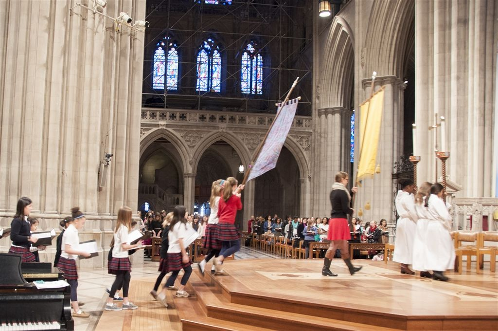 Lower School Cathedral Service Feb. 28, 2014