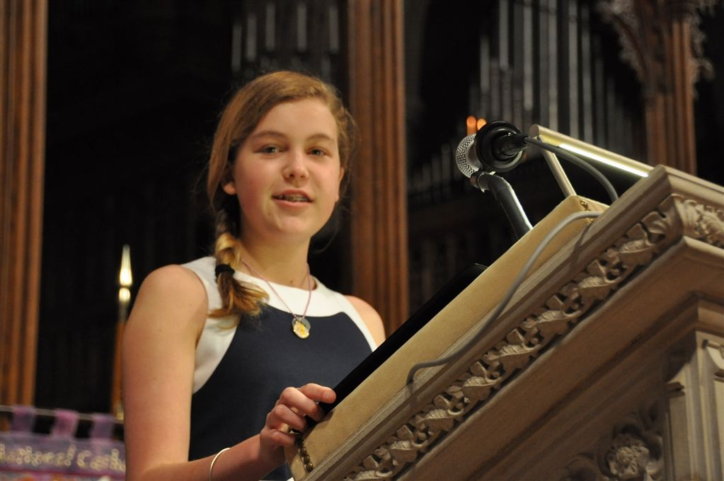 Middle School Cathedral Service  April 11, 2014