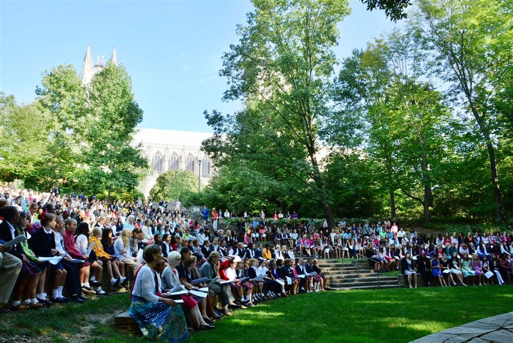 Cathedral Service in Ampitheater: Sept. 17, 2014