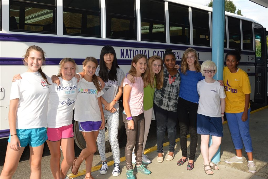 Middle School Service Trip to Bridges Charter School: Sept. 15, 2014