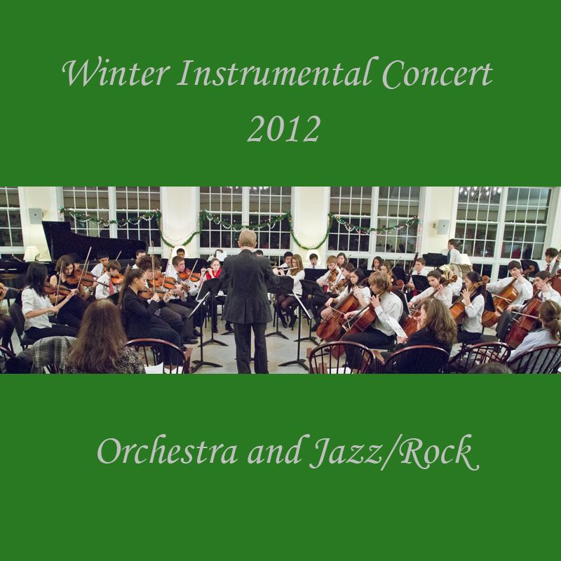 Winter Instrumental Concert 2012