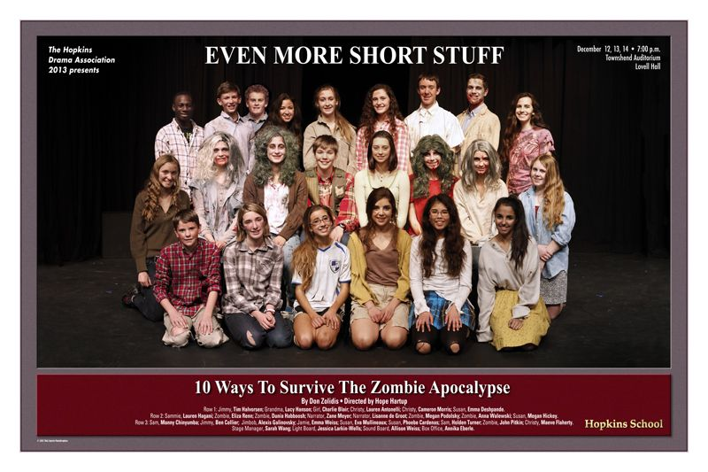 "HDA presents ""Even More Short Stuff: 10 Ways to Survive the Zombie Apocalypse\"" by Peter Mahakian"